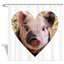 Cool Pig Shower Curtain