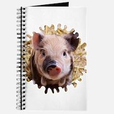 Sweet piglet,white mask Journal