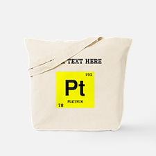 Custom Platinum Tote Bag