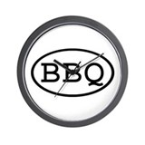 Bbq Wall Clocks
