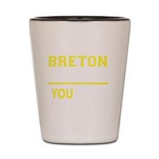 Funny Breton Shot Glass