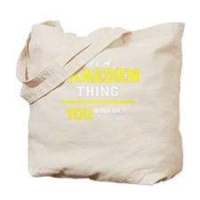 Cute Braeden Tote Bag