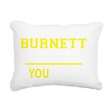 Funny Burnett Rectangular Canvas Pillow