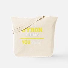 Unique Byron Tote Bag