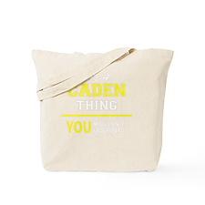 Unique Caden Tote Bag