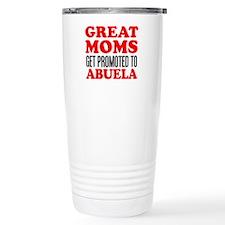 Promoted To Abuela Drinkware Travel Mug