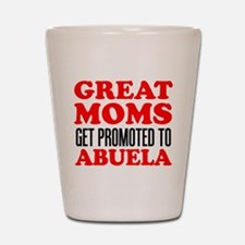 Promoted To Abuela Drinkware Shot Glass