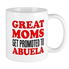 Promoted To Abuela Drinkware Mugs