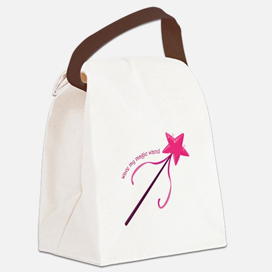 Wave My Wand Canvas Lunch Bag
