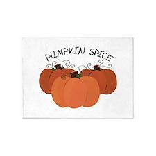 Pumpkin Spice 5'x7'Area Rug