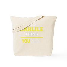 Funny Carlile Tote Bag