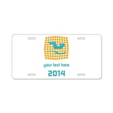 Cool Workout Gym Sport Yoga Aluminum License Plate