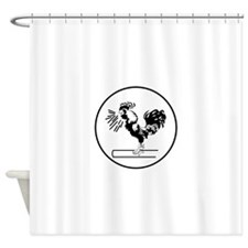 CV-3 USS SARATOGA Aircraft Carrier Shower Curtain