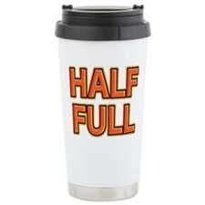 HALF FULL Travel Mug