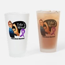 Sarcoidosis Stand Drinking Glass