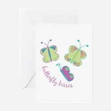 Buterfly Kisses Greeting Cards