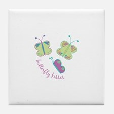 Buterfly Kisses Tile Coaster