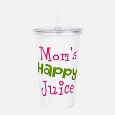 Moms Happy Juice Acrylic Double-wall Tumbler
