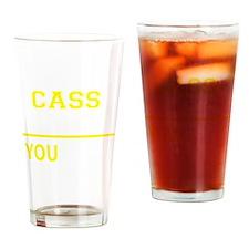 Cute Cass Drinking Glass