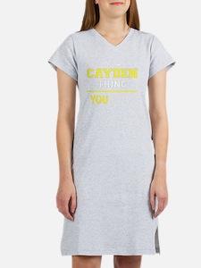Cute Cayden Women's Nightshirt