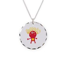 Silly Monster Necklace