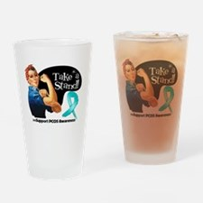 PCOS Stand Drinking Glass