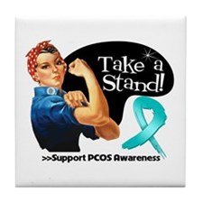 PCOS Stand Tile Coaster