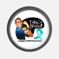 PCOS Stand Wall Clock
