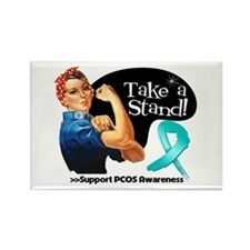 PCOS Stand Rectangle Magnet
