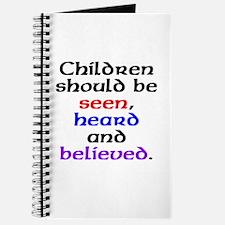 Seen, heard & believed Journal