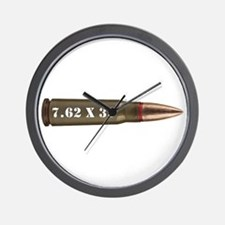 7.62 Ak Ammo Design Wall Clock