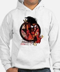 Spider-Woman in Icon Hoodie