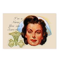 Vintage Nurses Don't Scar Postcards (Package of 8)