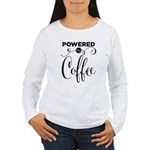 Powered By Coffee Women's Long Sleeve T-Shirt