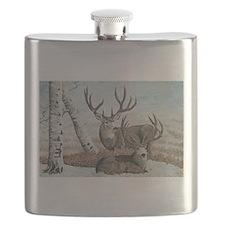 Snowy ridge bucks Flask