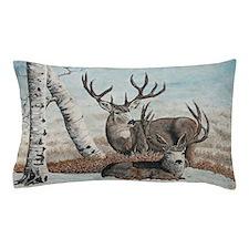 Snowy ridge bucks Pillow Case