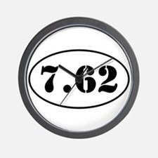7.62 Shooter Design Wall Clock