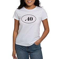 .40 Oval Design T-Shirt