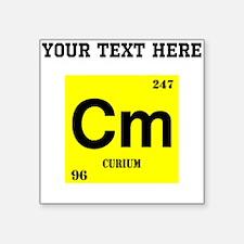 Custom Curium Sticker