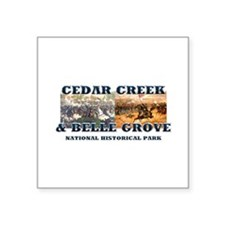 "ABH Cedar Creek Square Sticker 3"" x 3"""