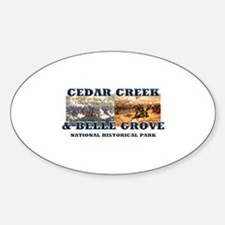 ABH Cedar Creek Sticker (Oval)