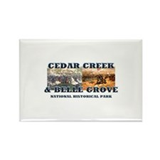 ABH Cedar Creek Rectangle Magnet