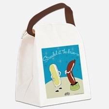 drivein.png Canvas Lunch Bag