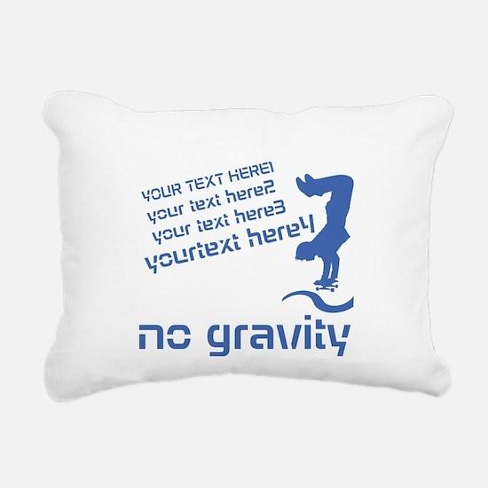 Cool Skater Rectangular Canvas Pillow