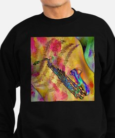 Colorful saxaphone Sweatshirt