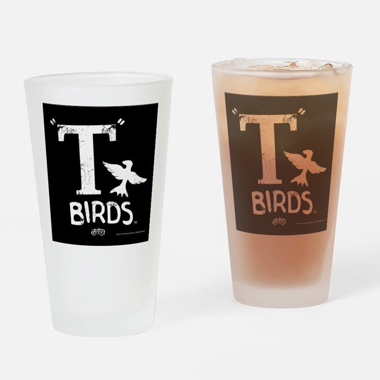 Grease - T Birds Drinking Glass