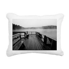 Cute Prairie lake Rectangular Canvas Pillow