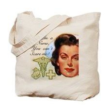 Vintage Nurses Don't Scare Tote Bag