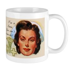 Vintage Nurses Don't Scare Mug