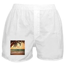 Ocean Sunset Boxer Shorts